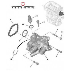 ΘΕΡΜΟΣΤΑΤΗΣ CITROEN PEGEUOT MINI 1.6 OEM