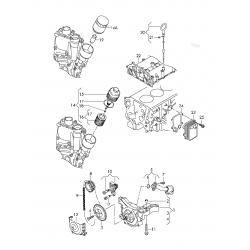 ΑΝΤΛΙΑ ΛΑΔΙΟΥ SEAT IBIZA TOLEDO VW POLO SCODA FABIA ROOMSTER 1.4 1.6 2006-2015