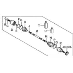 ΣΕΤ ΜΠΙΛΙΟΦΟΡΟΣ ΕΣΩΤΕΡΙΚΟΣ ACCENT/GETZ 99-2005 25X22 ΔΟΝΤΙΑ ΜΗΚΟΣ 141MM